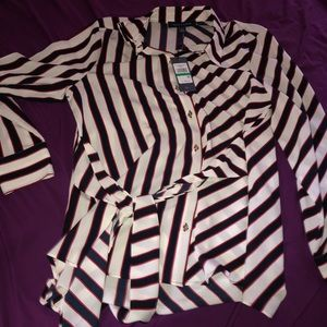 NWT! Tommy Hilfiger long sleeve blouse